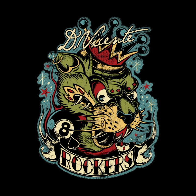 ROCKERS Men's T-Shirt by Copyright  David Vicente © 2019