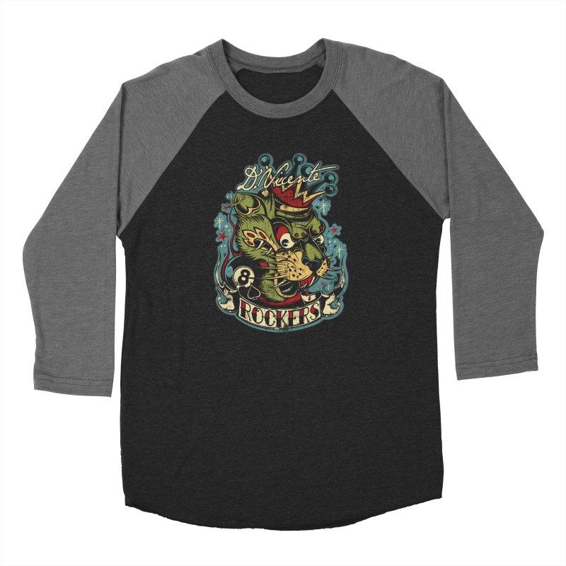 ROCKERS Men's Baseball Triblend Longsleeve T-Shirt by Copyright  David Vicente © 2019