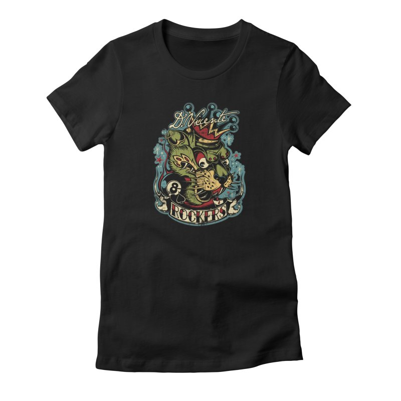 ROCKERS Women's T-Shirt by Copyright  David Vicente © 2016  -  All rights res