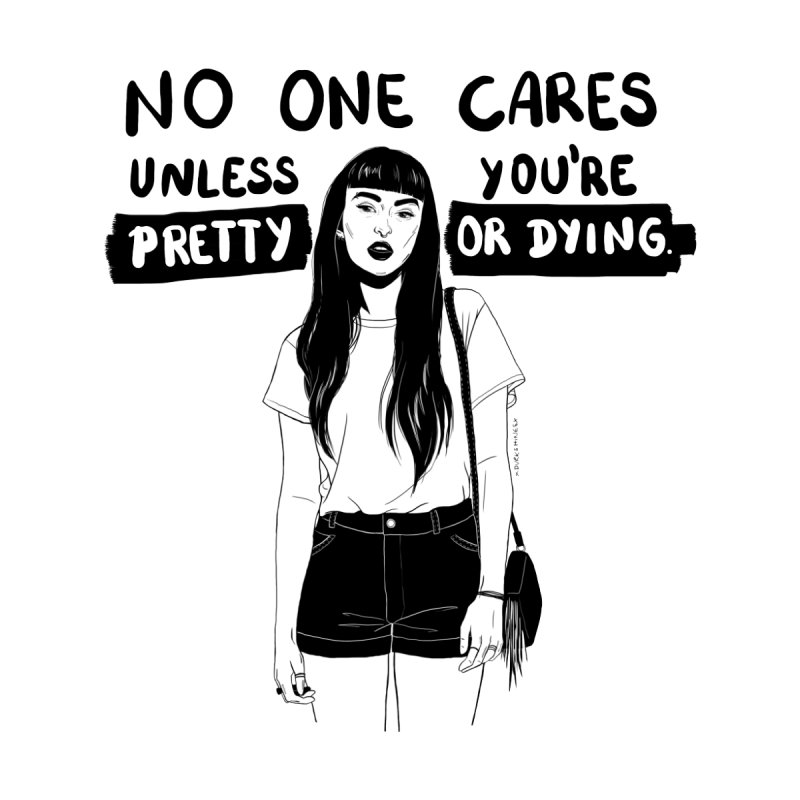 No One Cares by DVRKSHINES SHIRTS