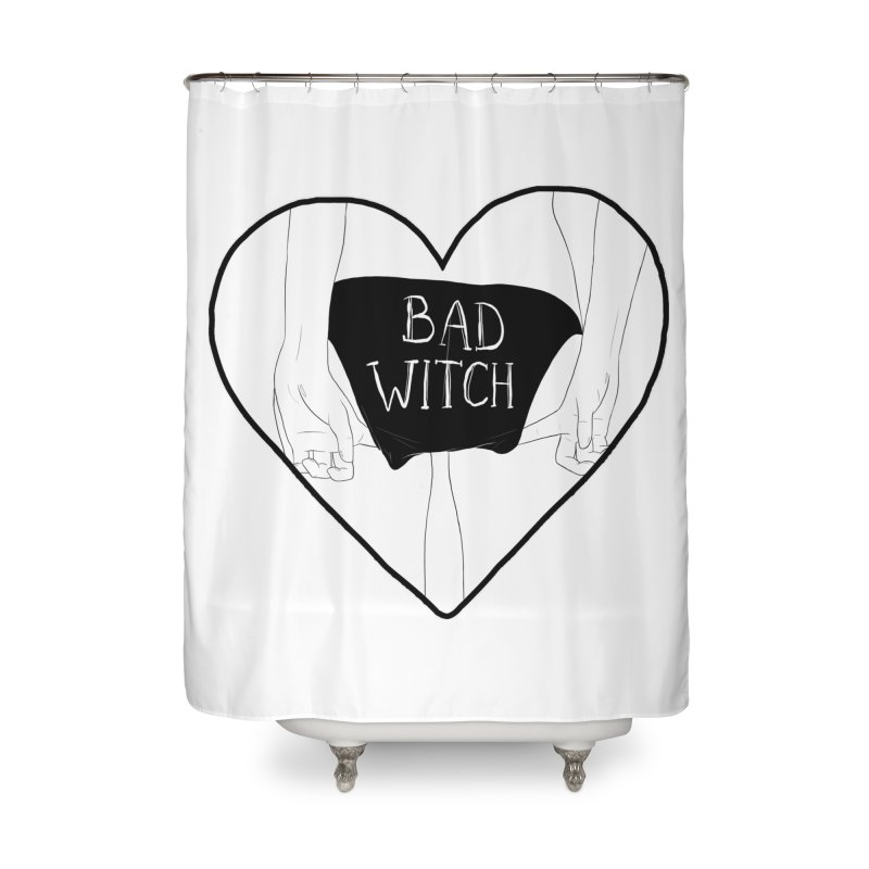 Bad Witch Home Shower Curtain by DVRKSHINES SHIRTS