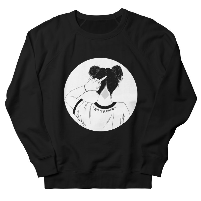 No Thanks Men's Sweatshirt by DVRKSHINES SHIRTS