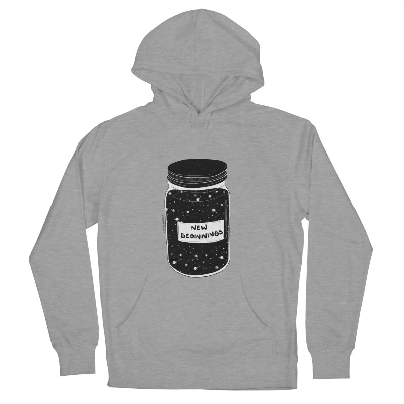New Beginnings Women's Pullover Hoody by DVRKSHINES SHIRTS