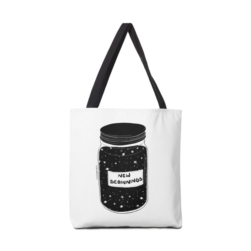 New Beginnings Accessories Bag by DVRKSHINES SHIRTS