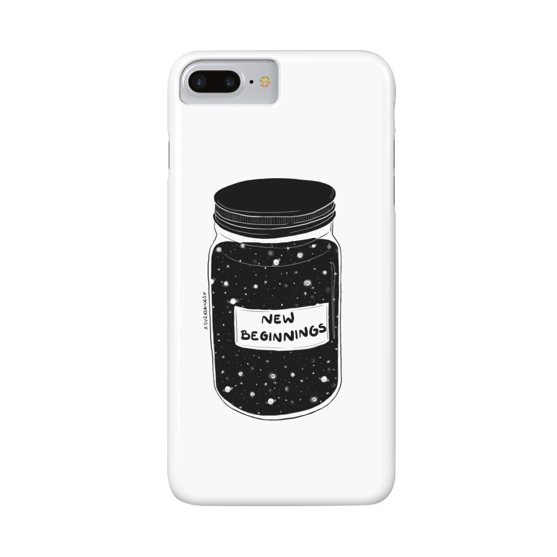 New Beginnings Accessories Phone Case by DVRKSHINES SHIRTS