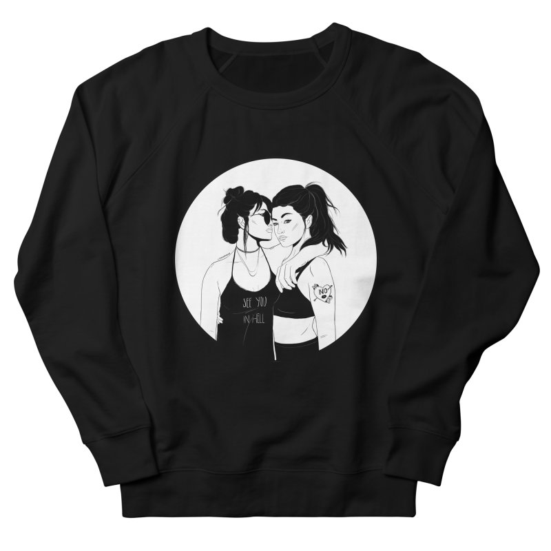 See You In Hell Men's Sweatshirt by DVRKSHINES SHIRTS