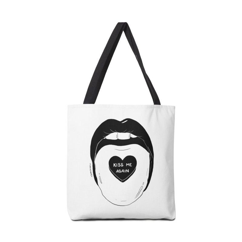 Kiss Me Again Accessories Bag by DVRKSHINES SHIRTS