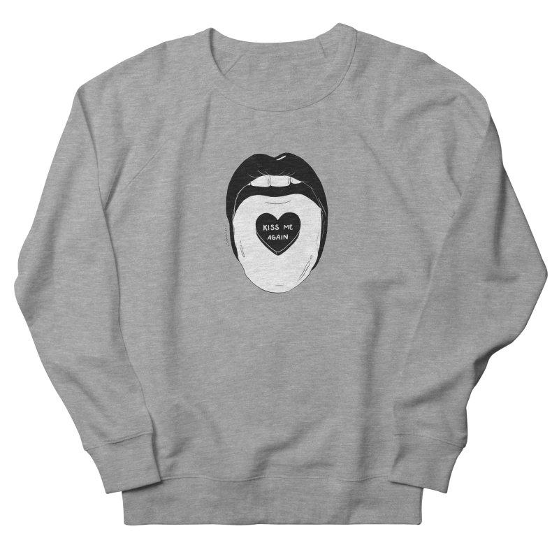 Kiss Me Again Men's Sweatshirt by DVRKSHINES SHIRTS