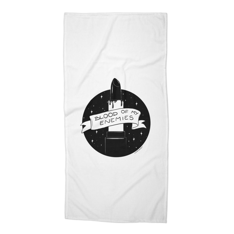 Blood Of My Enemies Accessories Beach Towel by DVRKSHINES SHIRTS