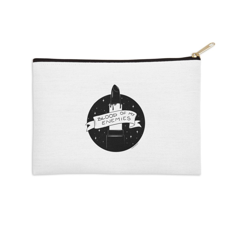 Blood Of My Enemies Accessories Zip Pouch by DVRKSHINES SHIRTS