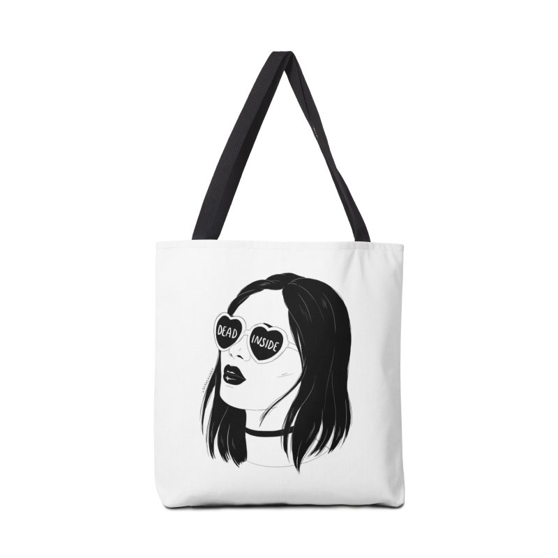 Dead Inside Accessories Bag by DVRKSHINES SHIRTS