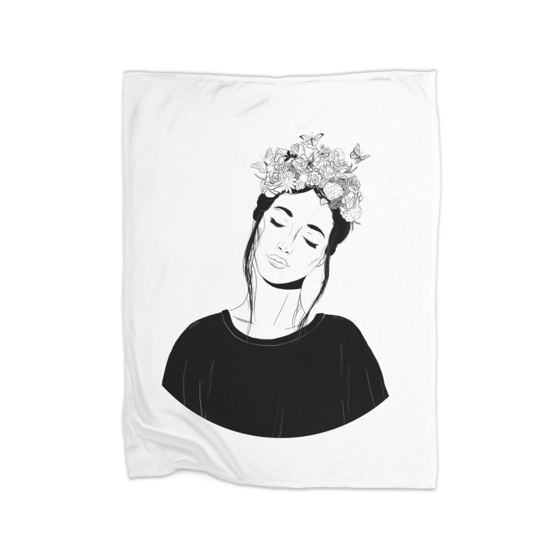 Daydreaming Home Blanket by DVRKSHINES SHIRTS