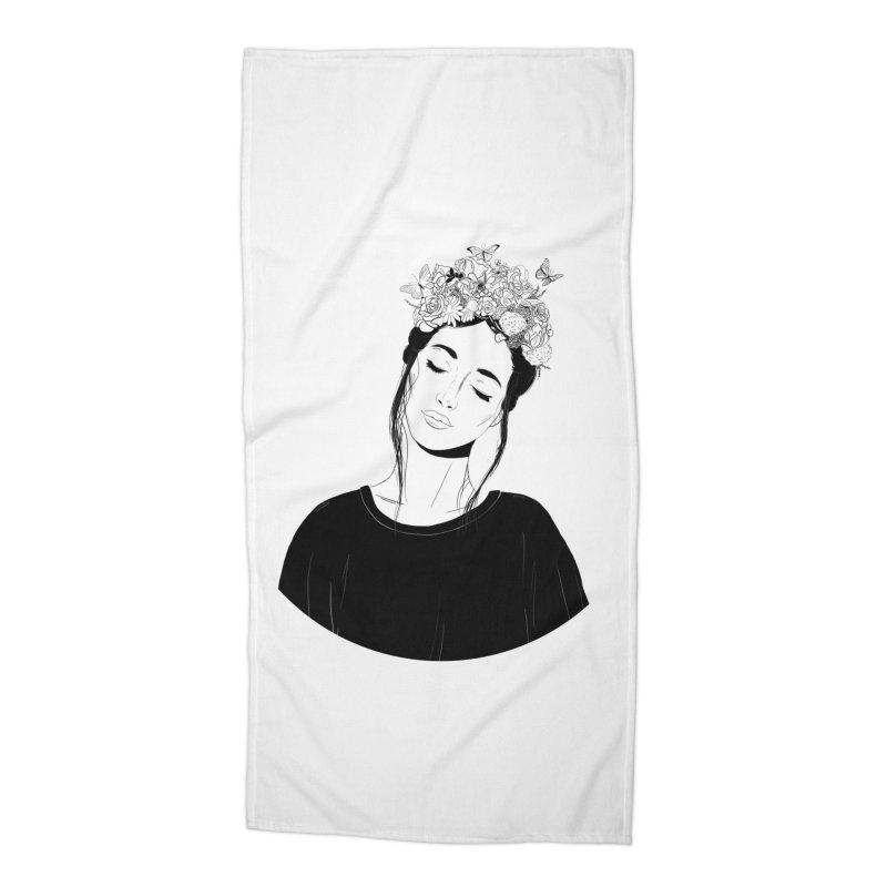 Daydreaming Accessories Beach Towel by DVRKSHINES SHIRTS