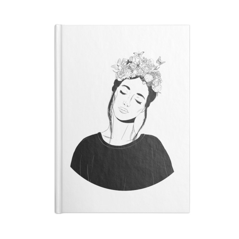 Daydreaming Accessories Notebook by DVRKSHINES SHIRTS