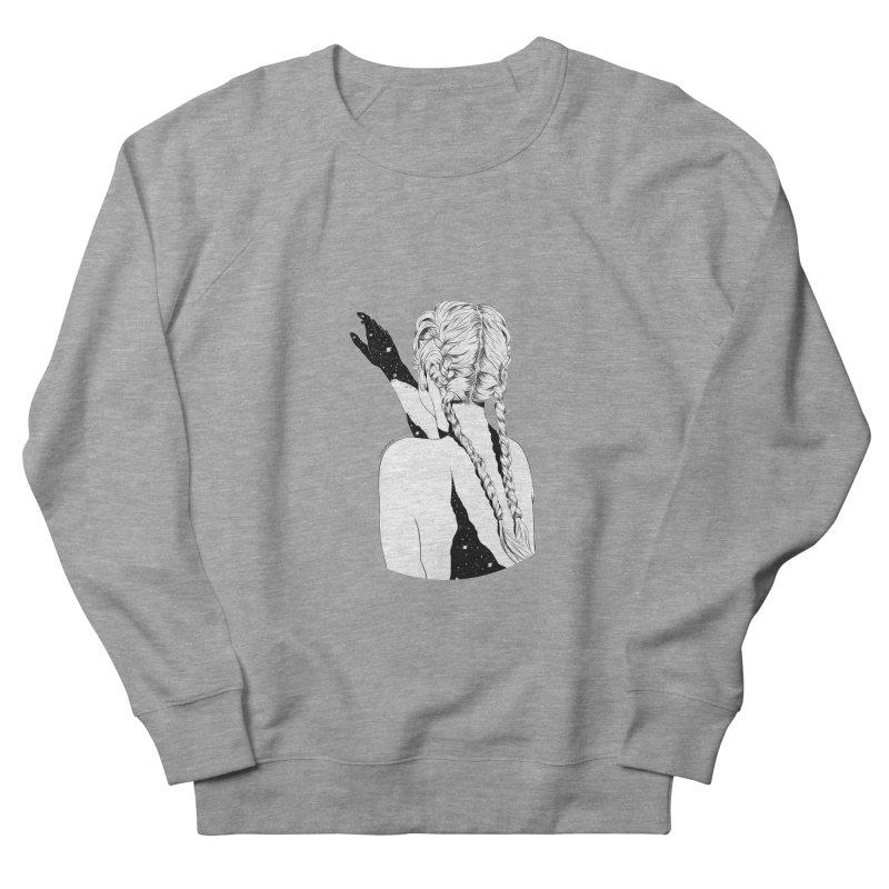 Galaxy Girl Men's Sweatshirt by DVRKSHINES SHIRTS