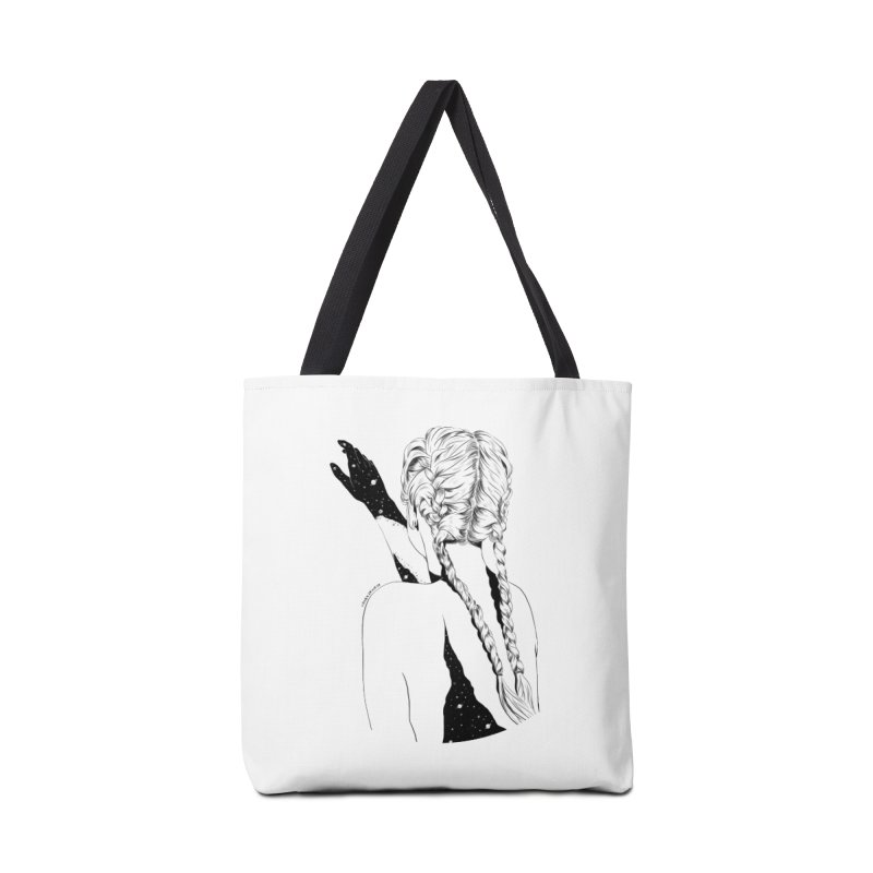 Galaxy Girl Accessories Bag by DVRKSHINES SHIRTS