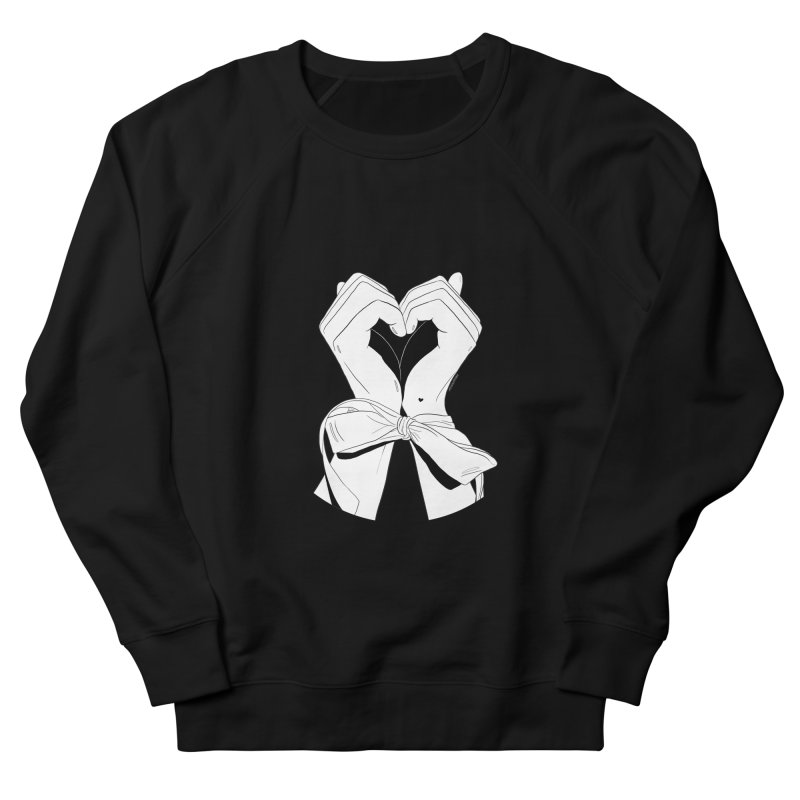 Tied Up Women's Sweatshirt by DVRKSHINES SHIRTS