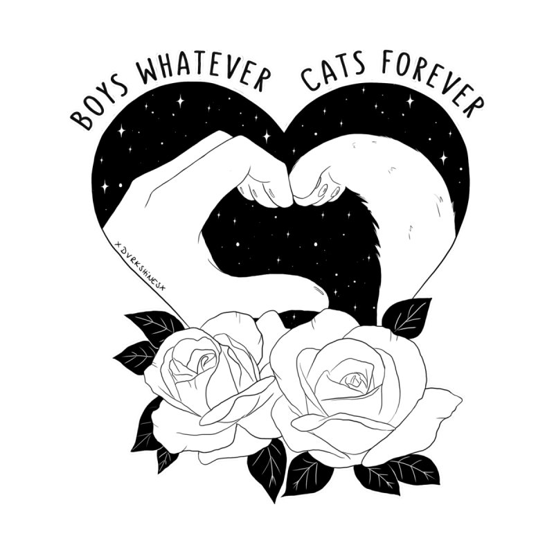 Cats Forever Women's V-Neck by DVRKSHINES SHIRTS