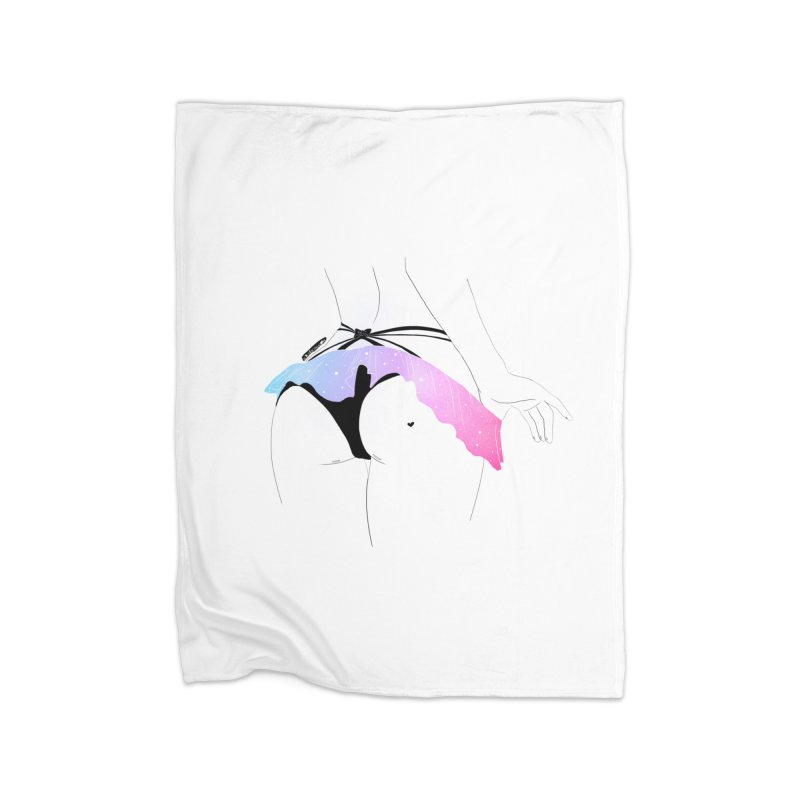 Galaxy Panties Home Blanket by DVRKSHINES SHIRTS