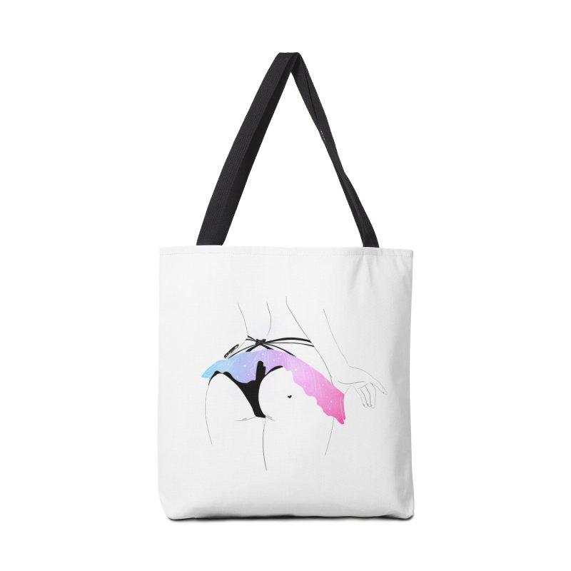 Galaxy Panties Accessories Bag by DVRKSHINES SHIRTS