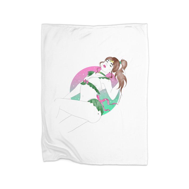 Sailor Jupiter Home Blanket by DVRKSHINES SHIRTS