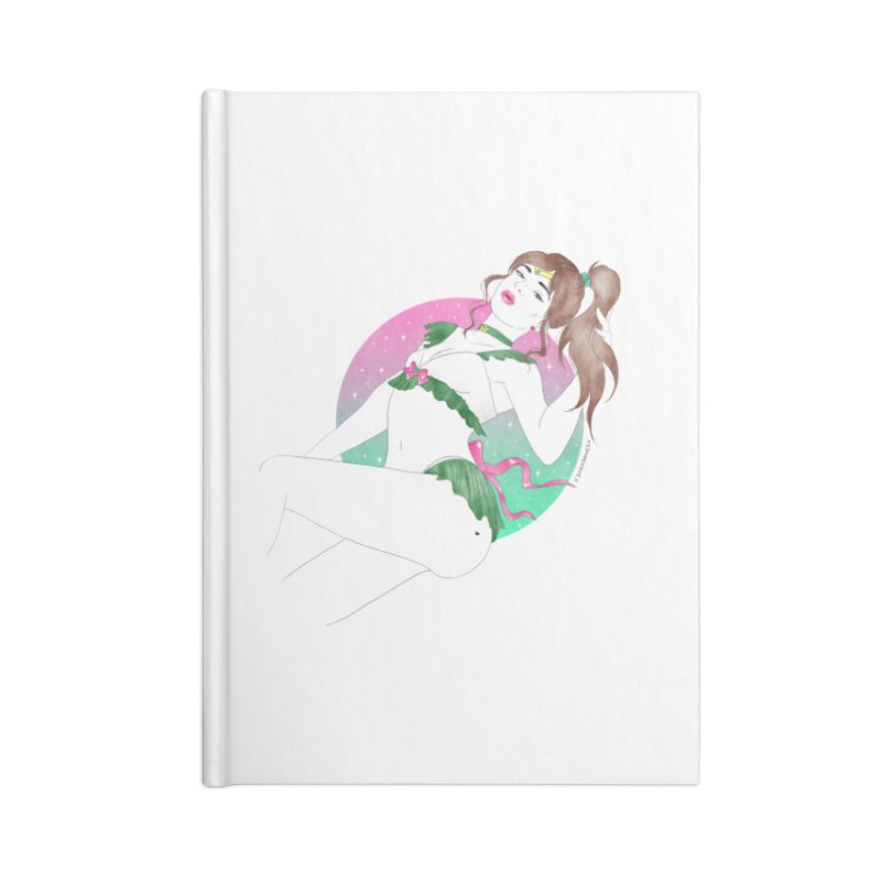 Sailor Jupiter Accessories Notebook by DVRKSHINES SHIRTS