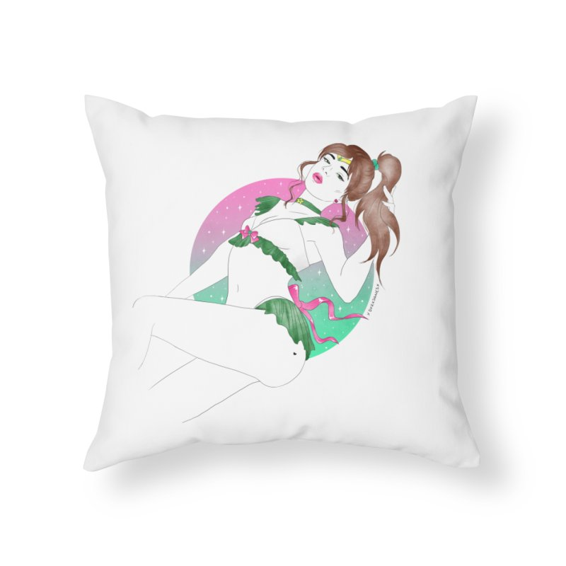 Sailor Jupiter Home Throw Pillow by DVRKSHINES SHIRTS
