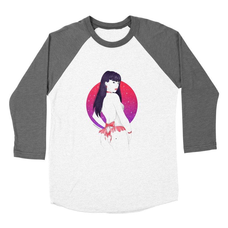 Sailor Mars Men's Baseball Triblend T-Shirt by DVRKSHINES SHIRTS