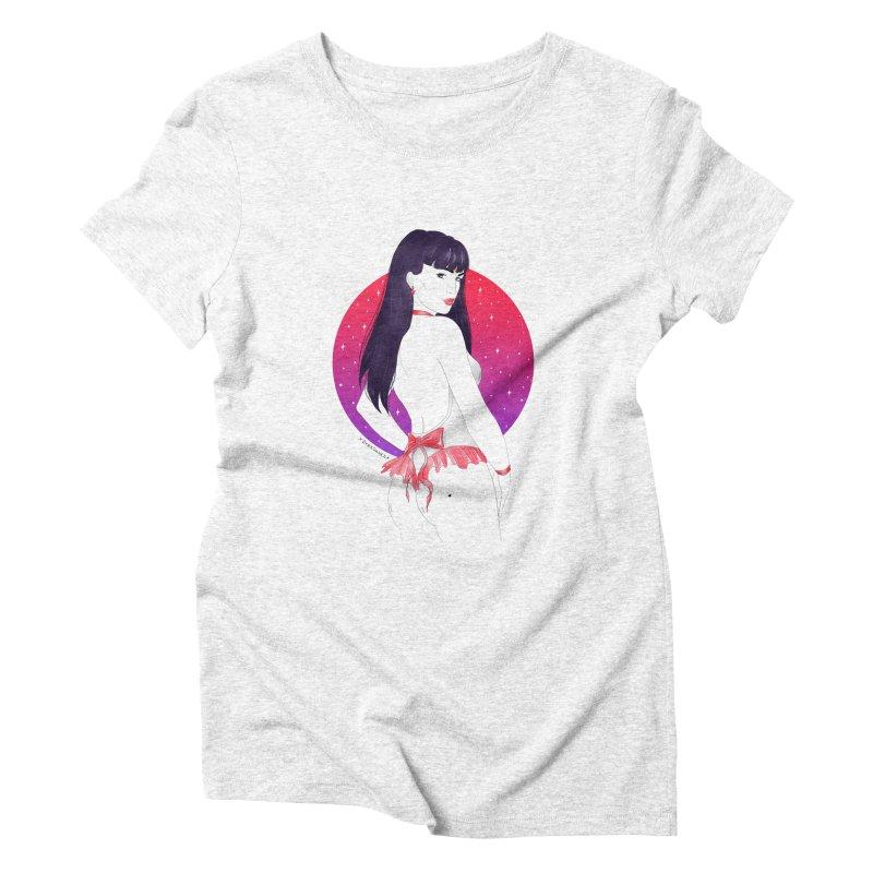 Sailor Mars Women's Triblend T-shirt by DVRKSHINES SHIRTS