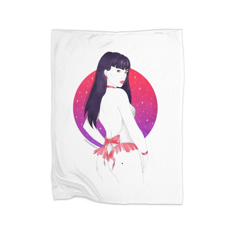 Sailor Mars Home Blanket by DVRKSHINES SHIRTS
