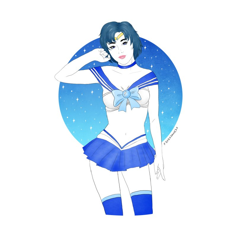 Sailor Mercury by DVRKSHINES SHIRTS