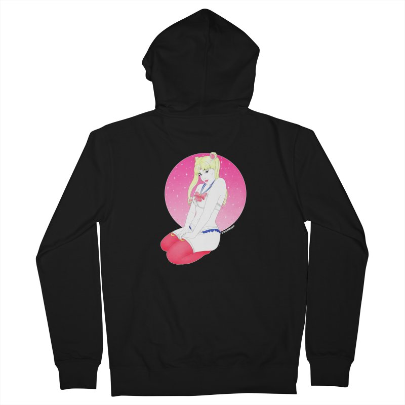 Sailor Moon Women's Zip-Up Hoody by DVRKSHINES SHIRTS