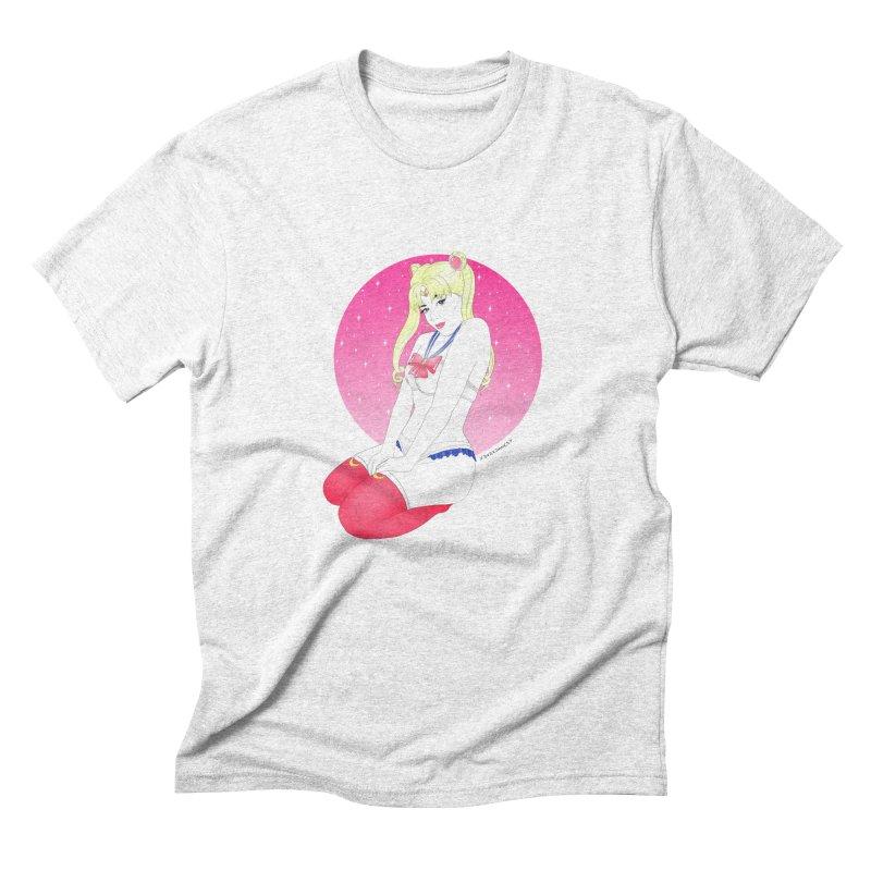 Sailor Moon Men's Triblend T-shirt by DVRKSHINES SHIRTS