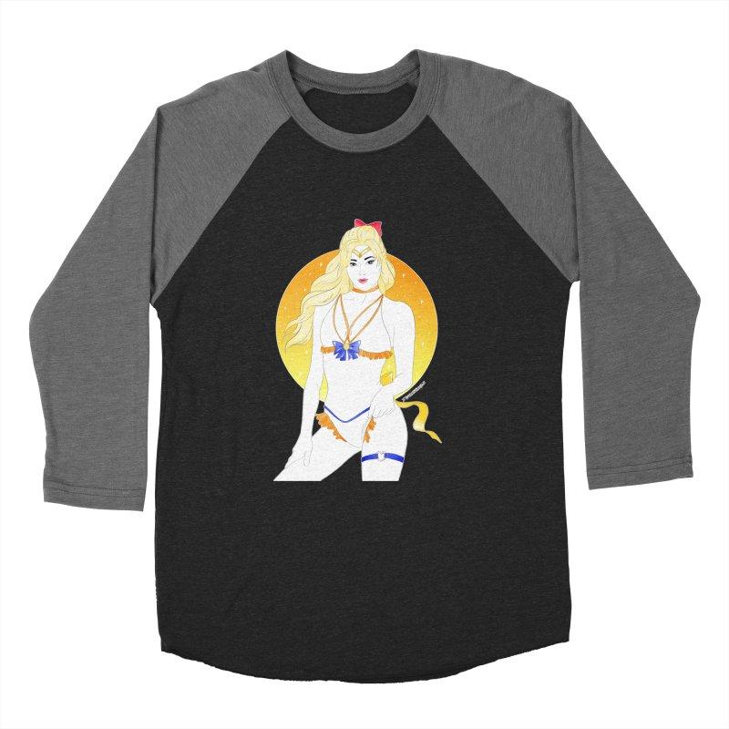 Sailor Venus Men's Baseball Triblend T-Shirt by DVRKSHINES SHIRTS