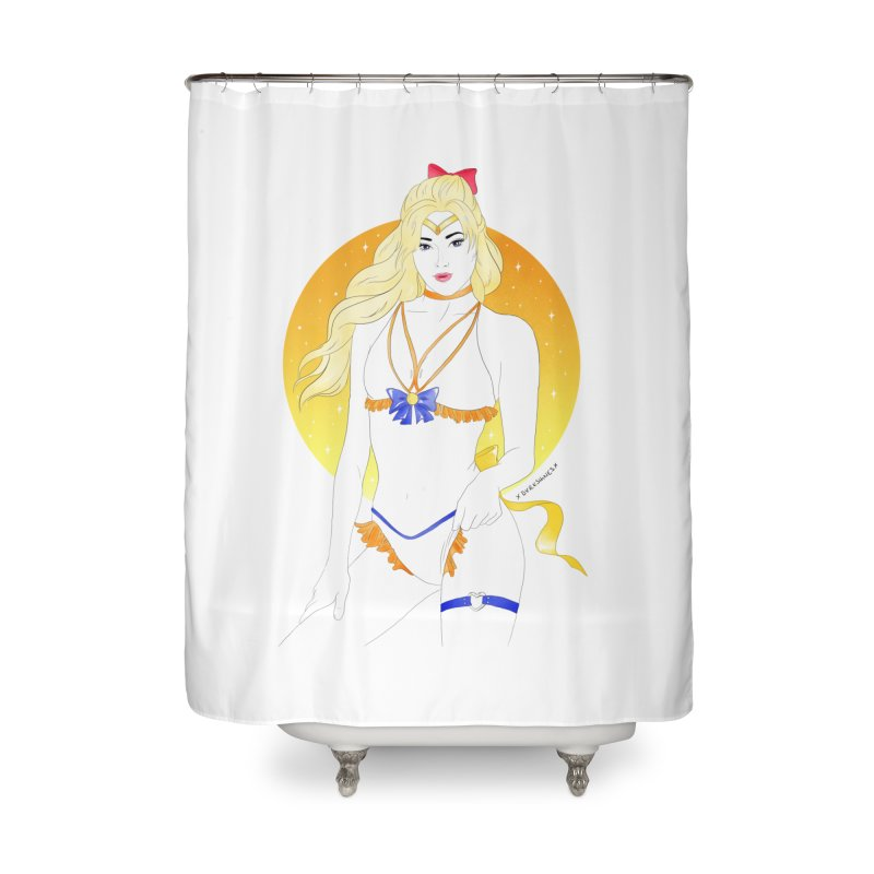 Sailor Venus Home Shower Curtain by DVRKSHINES SHIRTS