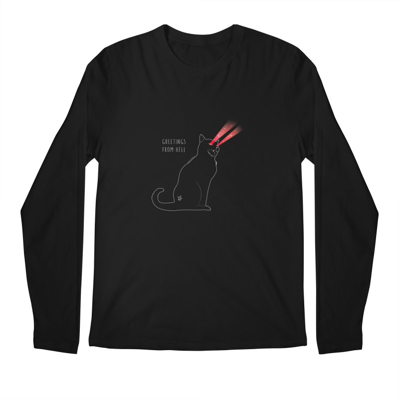 Greetings From Hell Men's Longsleeve T-Shirt by DVRKSHINES SHIRTS