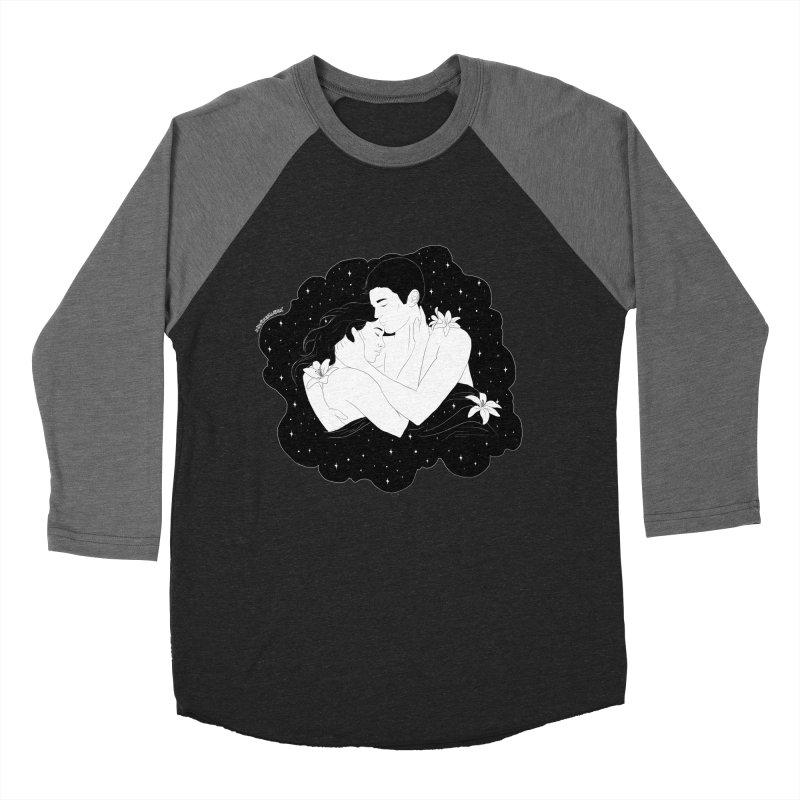 Galaxy Cloud Men's Baseball Triblend T-Shirt by DVRKSHINES SHIRTS