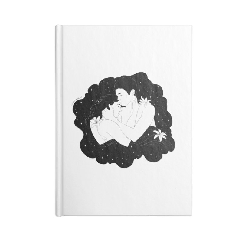 Galaxy Cloud Accessories Notebook by DVRKSHINES SHIRTS