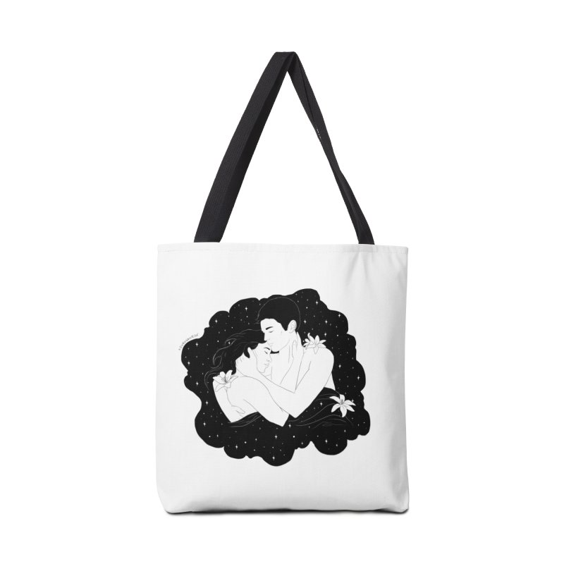 Galaxy Cloud Accessories Bag by DVRKSHINES SHIRTS