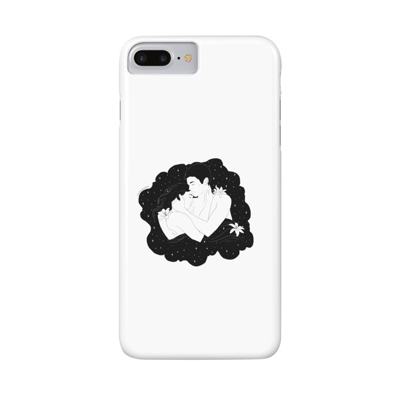 Galaxy Cloud Accessories Phone Case by DVRKSHINES SHIRTS