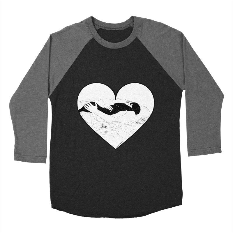 Sundays In Bed Men's Baseball Triblend T-Shirt by DVRKSHINES SHIRTS