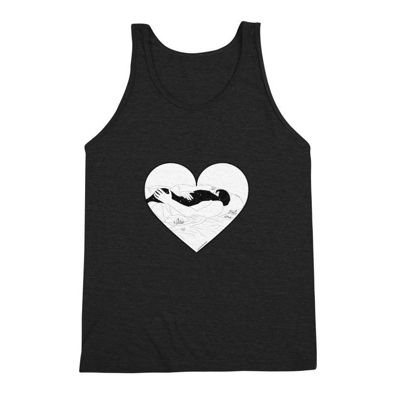 Sundays In Bed Men's Triblend Tank by DVRKSHINES SHIRTS