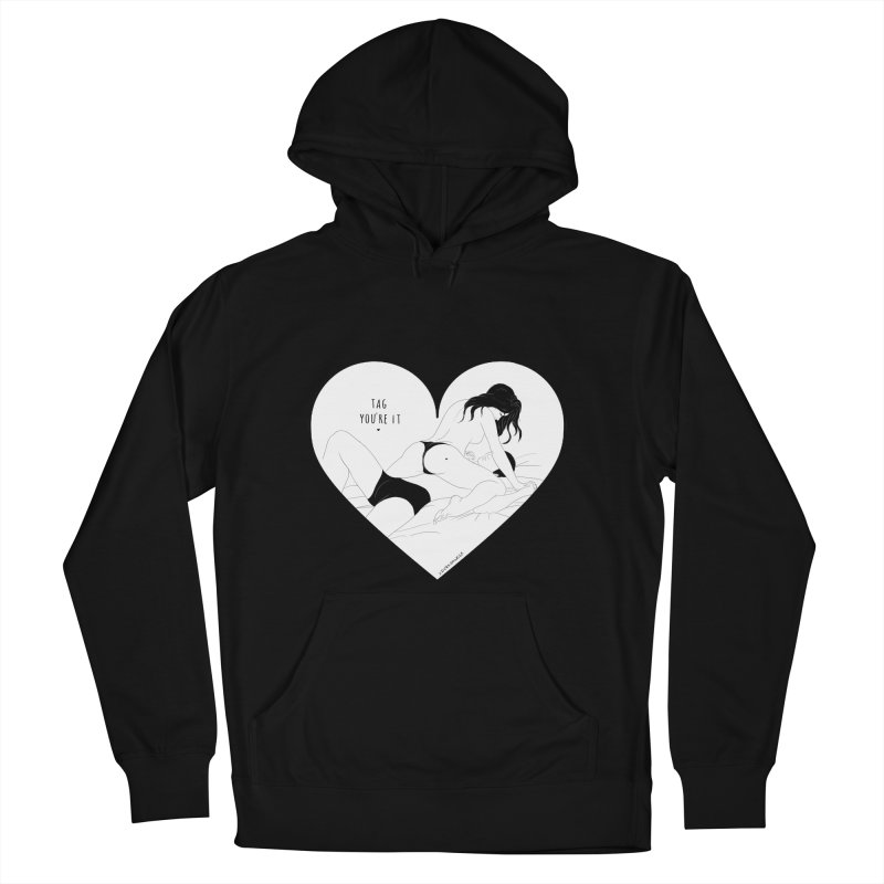 Tag You're It Women's Pullover Hoody by DVRKSHINES SHIRTS