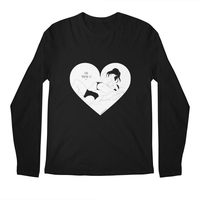 Tag You're It Men's Longsleeve T-Shirt by DVRKSHINES SHIRTS
