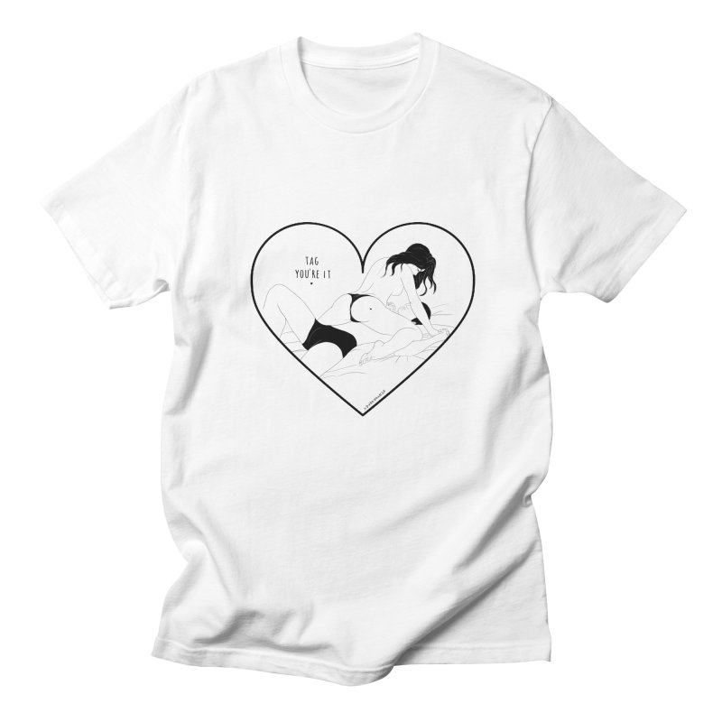 Tag You're It Men's T-shirt by DVRKSHINES SHIRTS