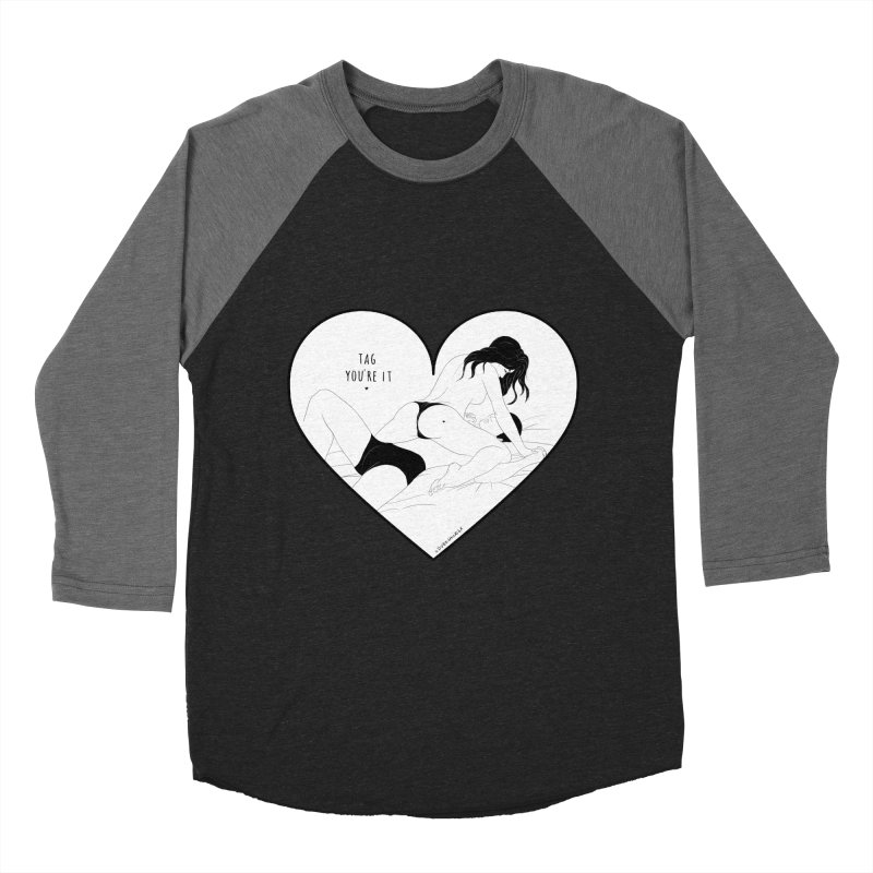 Tag You're It Men's Baseball Triblend T-Shirt by DVRKSHINES SHIRTS