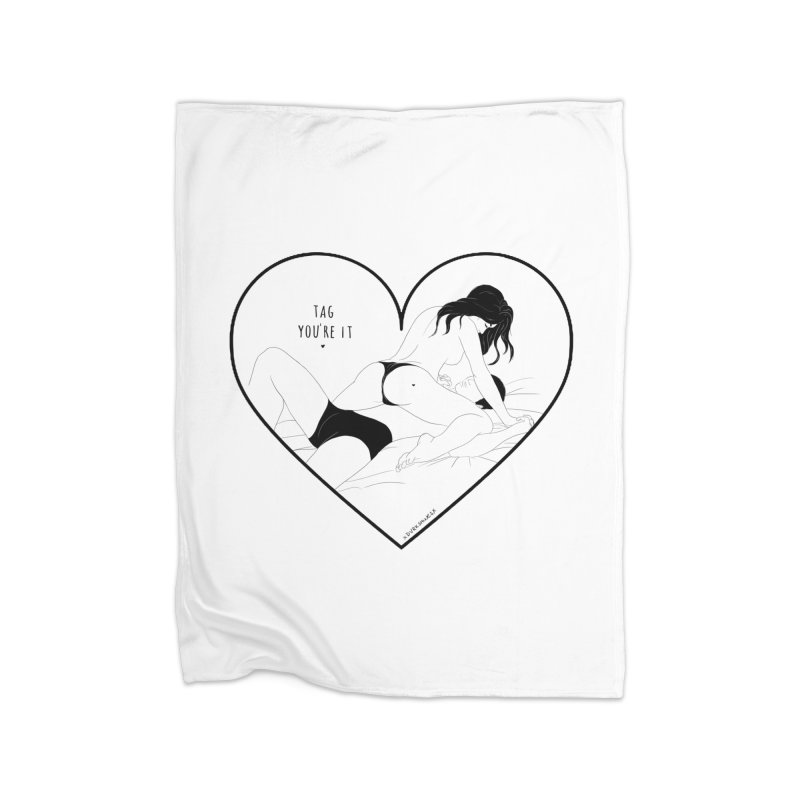 Tag You're It Home Blanket by DVRKSHINES SHIRTS