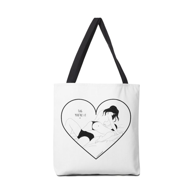 Tag You're It Accessories Bag by DVRKSHINES SHIRTS