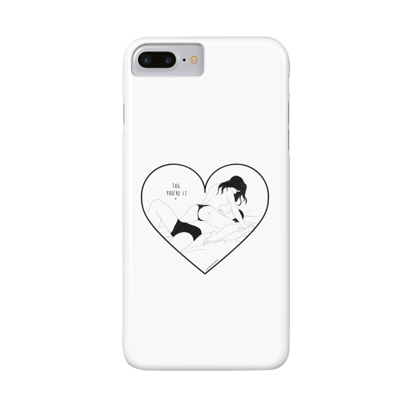 Tag You're It Accessories Phone Case by DVRKSHINES SHIRTS