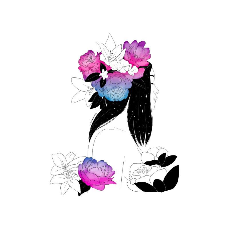 Floral Mind by DVRKSHINES SHIRTS